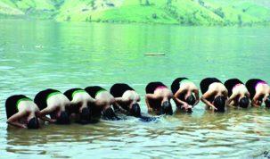 Spălarea cu apă, un exercițiu spiritual