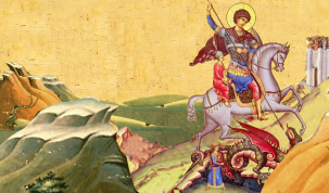 Sfantul Gheorghe, protectorul vegetatiei si al vitelor. Broaste, ramuri verzi, urzicatul, matraguna si untul vacii