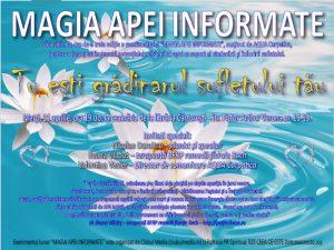 """MAGIA APEI INFORMATE"""", ediția a treia - Tot Ceea Ce Este"""